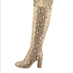 INC International Concepts Snakeskin Tall Boot